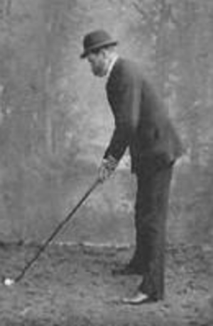 Tom Dunn (golf course architect) - Dunn at Meyrick Park in 1895