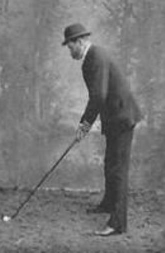 Tom Dunn (golf course architect) - Dunn at Meyrick Park in 1895