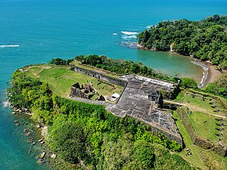 Chagres and Fort San Lorenzo - The current ruins of Fort San Lorenzo date from the 1750s.