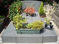Tombe Marcel Carné & Roland Lesaffre, Cimetière Saint-Vincent, Paris.jpg