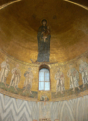 1000s in architecture - Image: Torcello Santa Maria Assunta mosaics of the choir