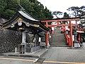 Torii and Chozuya of Taikodani Inari Shrine.jpg
