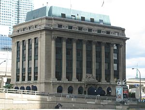 Toronto Harbour Commission - The agency's former headquarters in the Toronto Harbour Commission Building, now home to the Toronto Port Authority