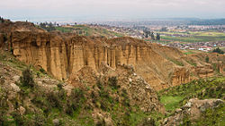 Turi Turi (Torre Torre) rock formations near the city of Huancayo