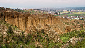 Huancayo Province - Turi Turi (Torre Torre) rock formations near the city of Huancayo
