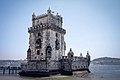 Torre de Belém from outside.jpg