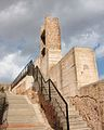 Torre i escales, castell d'Onda.JPG