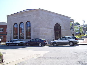Touro Synagogue - Image: Touro Synagogue Visitor Center Newport Rhode Island