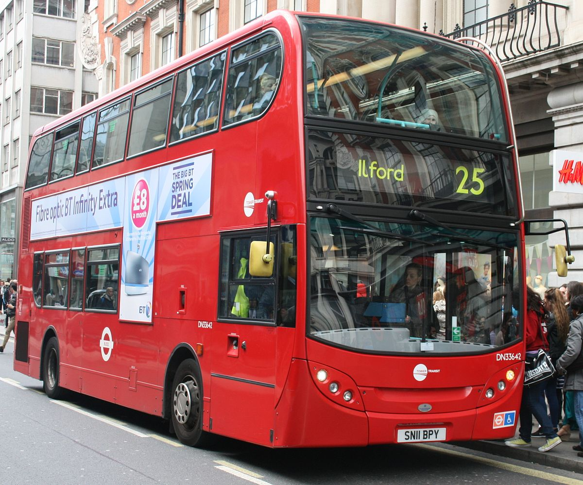 London Buses route 25 - Wikipedia