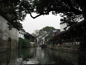 Kunshan - Image: Town of Jinxi Jiangsu China 2