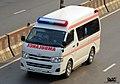 Toyota Hiace H200 ambulance, Bangladesh (25938590902).jpg