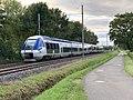 Train TER SNCF Class B 81500 Ligne ferroviaire Mâcon Ambérieu Route Prales Perrex 6.jpg