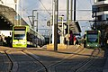 Trams at East Croydon - geograph.org.uk - 1718780.jpg