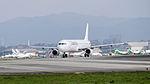 TransAsia Airways Airbus A321-231 B-22610 Departing from Taipei Songshan Airport 20150101a.jpg