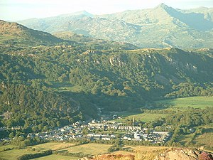 Porthmadog - Tremadog is a planned settlement built by William Madocks on land reclaimed from Traeth Mawr.
