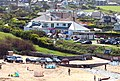 Trevone beach front and cafe - geograph.org.uk - 1287465.jpg