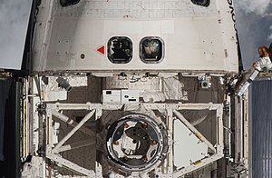 TriDAR - TriDAR during STS-131