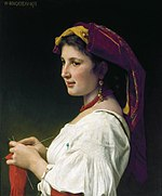 Tricoteuse, by William-Adolphe Bouguereau.jpg