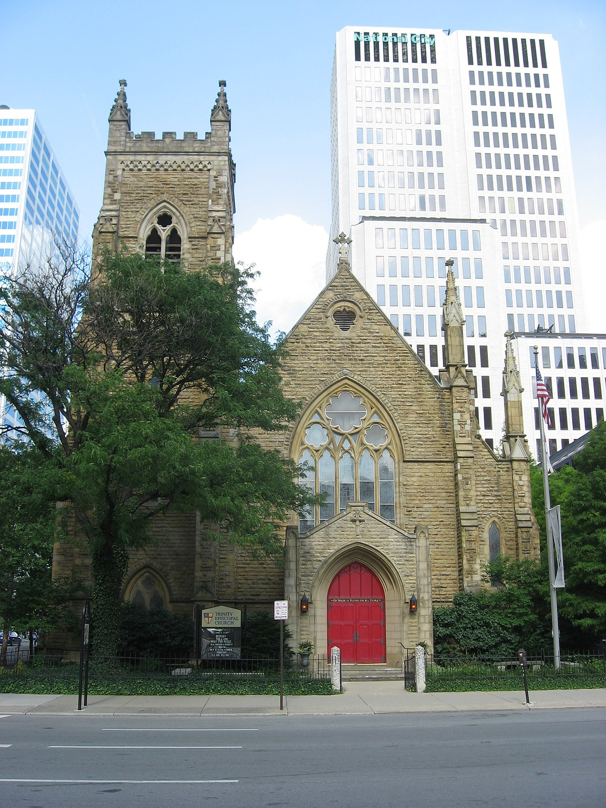 trinity episcopal church  columbus  ohio