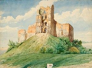 Trocki zamak. Троцкі замак (XIX).jpg