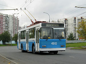 VMZ (Vologodskiy mechanical plant) -  Trolley VMZ-5298 and Moscow