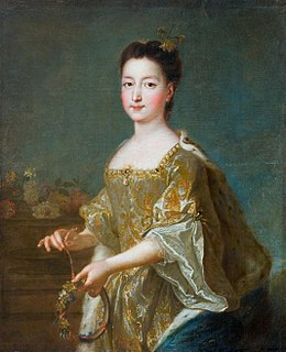 Theresa Kunegunda Sobieska Electress of Bavaria and of the Electorate of the Palatinate