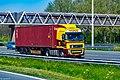 Truck Spotting on the A16 Direction Zwijndrecht 19 04 2019.... Not the Best spot with the Barrier , But better than Nowt . (47591282332).jpg