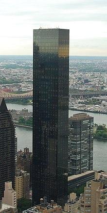 La Trump World Tower alla United Nations Plaza.