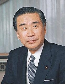 Tsutomu Hata Japanese politician