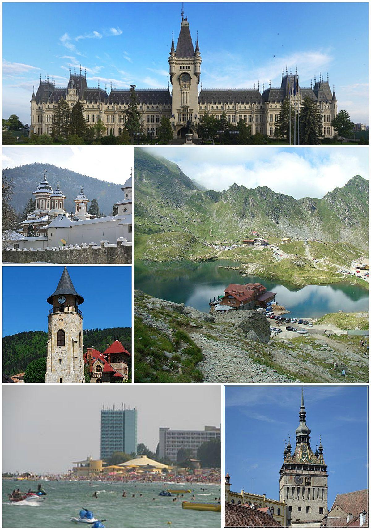 Turismo en Rumania - Wikipedia, la enciclopedia libre