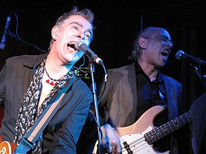 Norman Watt-Roy - John Turnbull and Watt-Roy performing live at The Water Rats, 2011