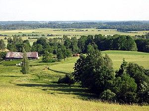 Samogitia - Samogitian landscape near Tverai