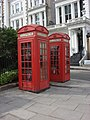 Two K2 telephone boxes next to Regent's Park Road - geograph.org.uk - 1005369.jpg
