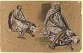Two Studies of a Seated Arab with a Pipe MET 1991.465.jpg