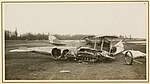 Two damaged German aircraft fuselages (8610324431).jpg