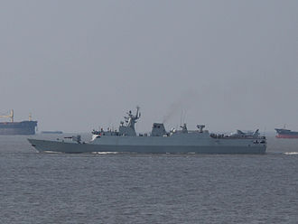 Nigerian Navy - Image: Type 056 corvette in Shang Hai