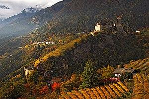 Tyrol Castle - Image: Tyrol castle