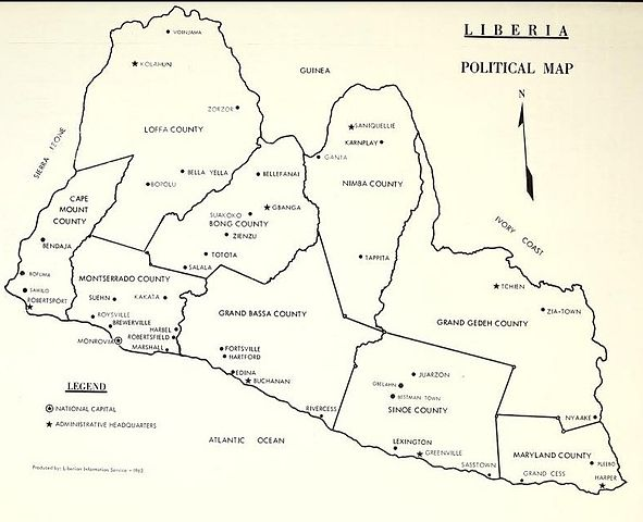 FileUSDOC Liberia Political Mapjpg Wikimedia Commons - Us map doc