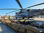 U.S. Marines arrive in the Cayman Islands aboard two CH-53E Super Stallion helicopters ready to support the humanitarian-aid and disaster relief effort to Haiti in response to Hurricane (30159066866).jpg