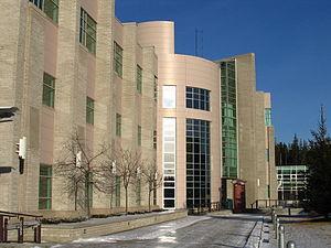 University of Northern British Columbia - Image: UNBC Research Laboratory