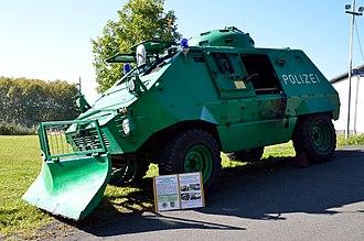 Thyssen Henschel UR-416 - UR-416 German Polizei-Sonderwagen.