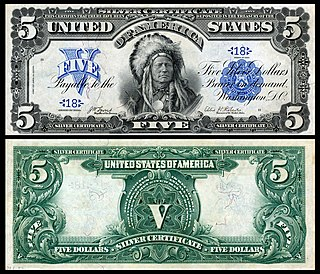 Representativo money issued by the united states government between 1868 and 1964