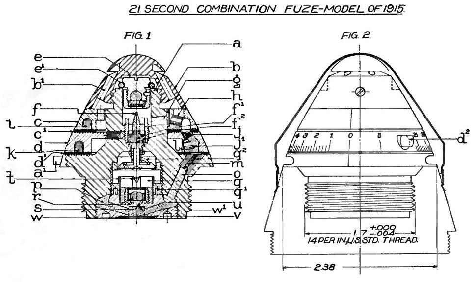US21SecondCombinationFuze1915