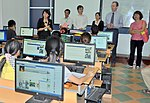USAID Visits IT Training Program for People with Disabilities at Dong A University (9316998491).jpg