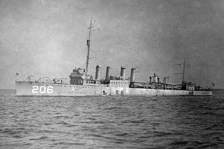 USS <i>Chandler</i> (DD-206)