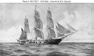 USS Dale (1839) - USS Dale