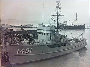 USS McMinnville (PCS-1401) @ Naval Station Key West