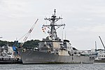 USS O'Kane(DDG-77) left front view at U.S. Fleet Activities Yokosuka April 30, 2018 02.jpg