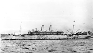 USS Princess Matoika - USS Princess Matoika (ID-2290) under way in 1919