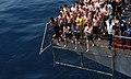 USS Tawara holds swim call DVIDS99227.jpg